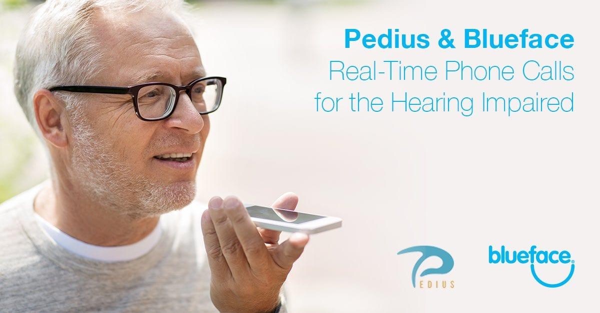 Pedius and Blueface: Voice Calls for the Deaf