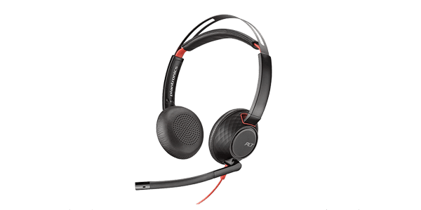 Headset Poly BLACKWIRE 5220